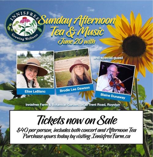 Innisfree Farm Tea & Music